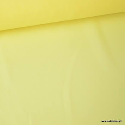 Tissu Mousseline fluide Jaune
