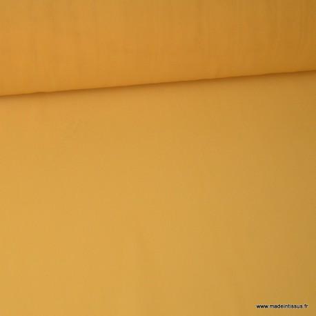 Tissu Mousseline fluide Moutarde