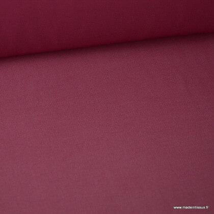 Tissu Mousseline fluide Bordeaux