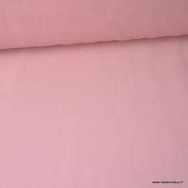 Tissu Mousseline fluide polyester Nude