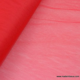 Tulle robe de mariée rouge