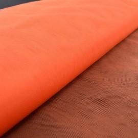 Tissu Tulle souple robe de mariée orange en 3.00m de large