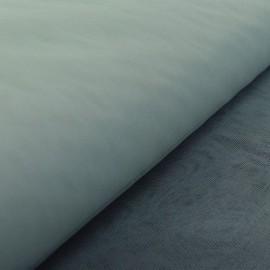 Tissu Tulle souple robe de mariée gris perle en 3.00m de large .