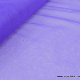 Tissu Tulle souple robe de mariée Violet en 3.00m de large .