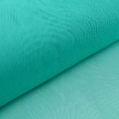 Tulle souple coloris Vert emeraude220 100% polyamide 300cm