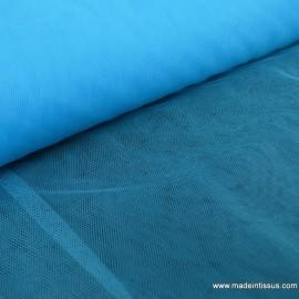 Tissu Tulle souple robe de mariée turquoise en 3.00m de large .