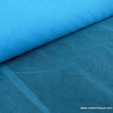 Tulle souple coloris turquoise216 100% polyamide 300cm