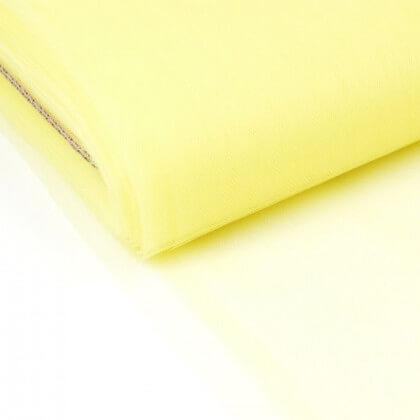 Tulle souple coloris JAUNEFLUO130 100% polyamide 280cm
