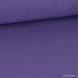 Tissu ultra doux Jersey en viscose Bambou coloris Violet