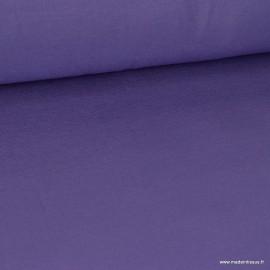 Tissu ultra doux Jersey en viscose Bambou coloris Violet . x1m