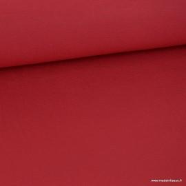 Tissu ultra doux Jersey en viscose Bambou coloris Rouge
