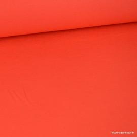 Tissu ultra doux Jersey en viscose Bambou coloris Grenade.