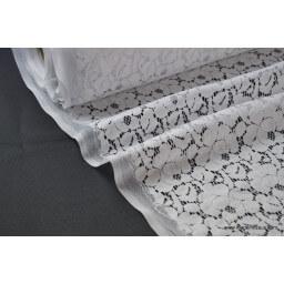 Dentelle coton polyamide cortège, mariage et cérémonie x50cm
