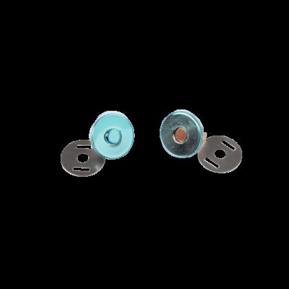 Bouton magnétique 18mm finition argent Bohin