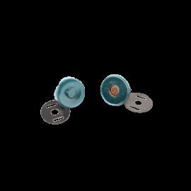 Bouton magnétique sans Couture 18mm finition Bronze Bohin