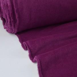 Tissu Polaire Made in France haut de gamme PRUNE