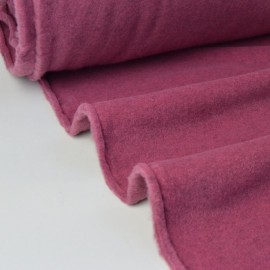 Tissu Polaire Made in France haut de gamme ROSE TREMIERE .x1m