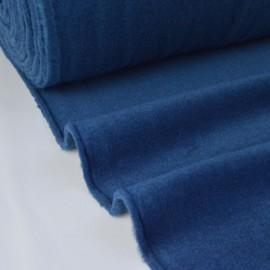 Tissu Polaire Made in France haut de gamme BLEU MARINE .x1m
