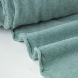 Tissu Polaire Made in France haut de gamme VERT MENTHE .x1m