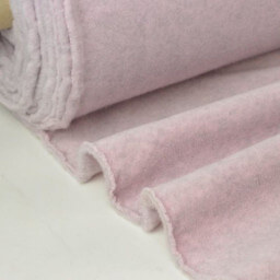 Tissu POLAIRE CHINE coloris rose nacre