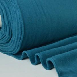 Tissu Polaire 100%  polyester coloris pétrole