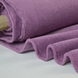 Tissu Polaire Made in France haut de gamme MAUVE .x1m