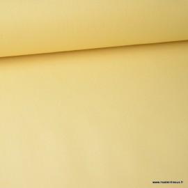 Tissu jean stretch coloris jaune x1m