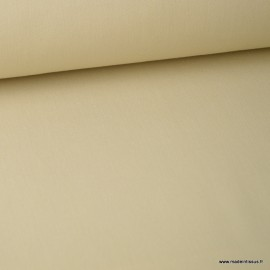 Tissu jean stretch coloris beige x1m