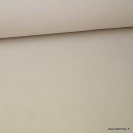 Tissu jean stretch coloris écru x1m