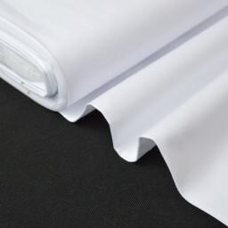 Tissu coton chemise blanc pour confection