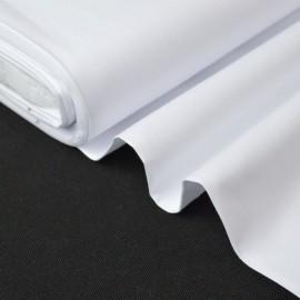 Tissu  Fil à Fil coton chemise blanc pour confection . x1m