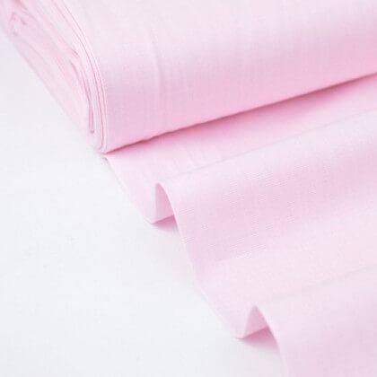 Tissu Fil à Fil coton rose pour confection