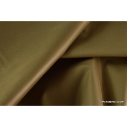 Tissu polyester marron clair déperlant pour parapluie x50cm