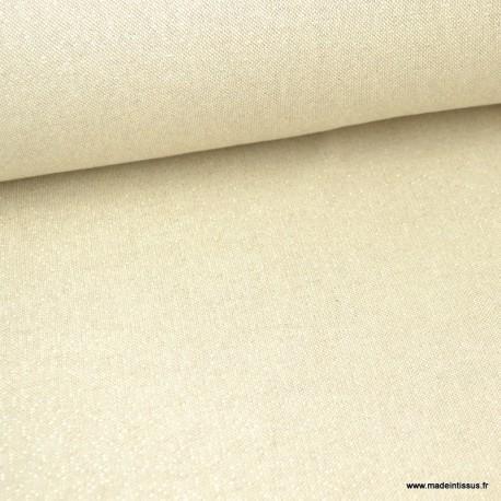 Tissu toile Polycoton Cubex OR