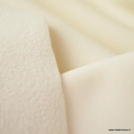 Tissu Softshell pour imperméable noir