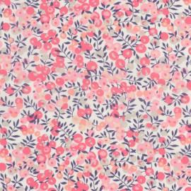 Tissu Liberty Wiltshire Corail et Rose
