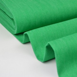Tissu jean stretch coloris vert