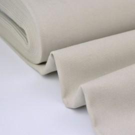 Tissu jean stretch coloris gris perle