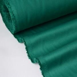 Tissu sergé coton mi-lourd Vert 260gr/m²