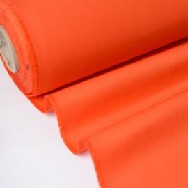 Tissu sergé coton mi-lourd Orange 260gr/m²