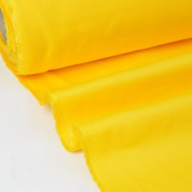 Tissu sergé coton mi-lourd jaune 260gr/m²