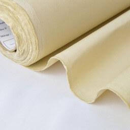 Sergé mi-lourd coton écru 260gr/m² x50cm