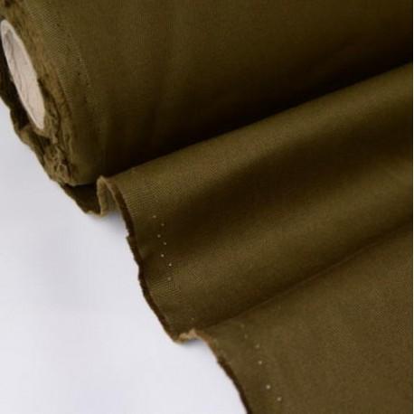 Tissu sergé coton mi-lourd Marron (bronze) 260gr/m²