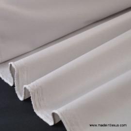 Tissu imperméable étanche polyester enduit acrylique perle