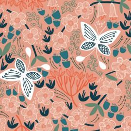 Tissu Bio coton CLOUD9 - Collection Stockbridge - Alice Holt