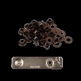 Oeillets avec rondelles 4mm + jeu de pose - Laiton bronze - Bohin