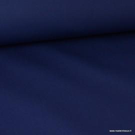 Tissu sergé coton extra lourd marine 350gr/m²