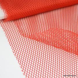 Tissu Filet Rouge