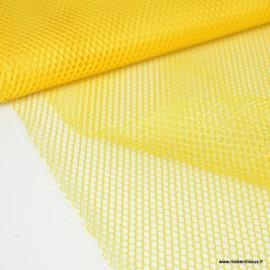 Tissu Filet Jaune
