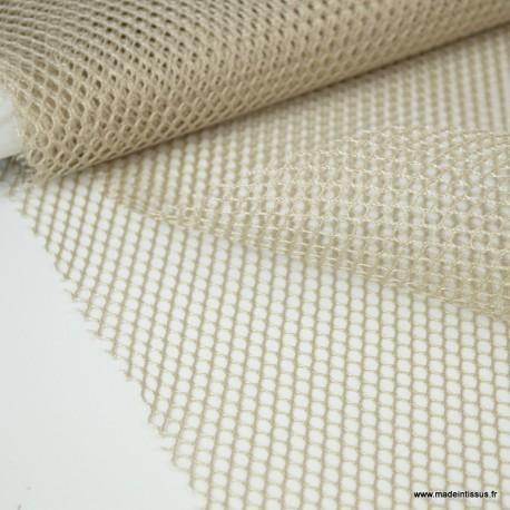 Tissu Filet Naturel - au mètre